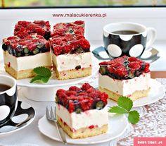 Ciasto letnia bryza - owocowe z jogurtem