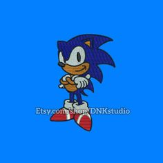 Sonic the Hedgehog Embroidery Design - 5 Sizes - INSTANT DOWNLOAD  This design manually made by hand, from start to finish. It is a digitized embroidery design for a buyer who has an embroidery sewing machine.  https://www.etsy.com/listing/516423829/sonic-the-hedgehog-embroidery-design-5  #stitch #digitized #Sewing #Needlecraft #stitches #Embroidery #Applique #EmbroideryDesign #pattern #MachineEmbroidery #Sonic #Hedgehog #SonictheHedgehog #SonicHedgehog #cartoon