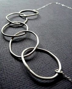 Rustic Large Sterling Hoops  #EpheriellMD