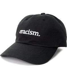 1bfd2092ea3 Akomplice Eracism Black Baseball Hat Dad Hats