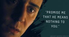 "Loki's Dirty Whispers - Submission: ""Promise me that he means nothing to you."""