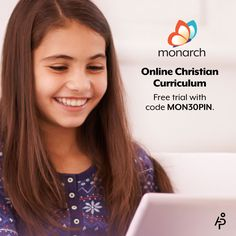 Try Monarch #homeschool curriculum for free for 30 days! No credit card required. Use code MON30PIN.   #freetrial #curriculum #freebie
