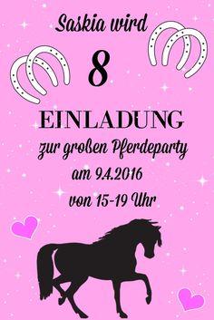 Pferde Geburtstagsparty   Tolle Ideen Für Einen Gelungenen Kindergeburtstag  ! Mottoparty Pferd   Ponygeburtstag