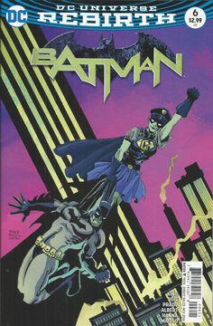 DC Universe Rebirth Batman comic issue 6