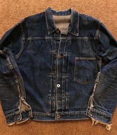 perfectly worn in Vintage Jeans, Vintage Jacket, Vintage Outfits, Vintage Leather, Jean Shirts, Denim Shirt, Denim Jeans, Nudie Jeans, Levis Jacket