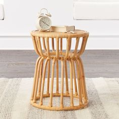 Kids Rattan Nightstand at Crate and Barrel Canada. Discover unique furniture and decor from across the globe to create a look you love. Furniture Wax, Rattan Furniture, Unique Furniture, Custom Furniture, Rattan Stool, Furniture Dolly, Affordable Furniture, Nursery Furniture, House Furniture