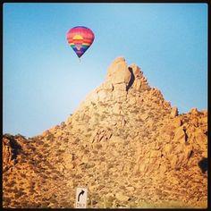 Pinnacle Peak Mountain in Scottsdale Arizona! Great views and great hiking trails