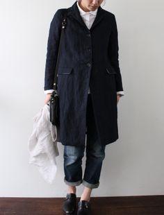 [Envelope Online Shop] Bergfabel linen coat Lisette Select