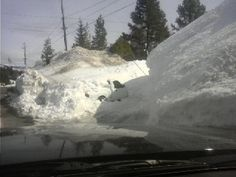 Drive what where? Truckee California snow time