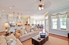 great open concept Stephen Alexander Homes and Neighborhoods