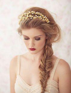 coiffure mariée