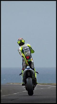 Valentino Rossi.