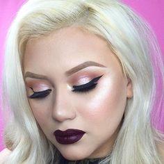 WEBSTA @ makeupaddictioncosmetics - @belladelune slayed this look!! Fall ready…
