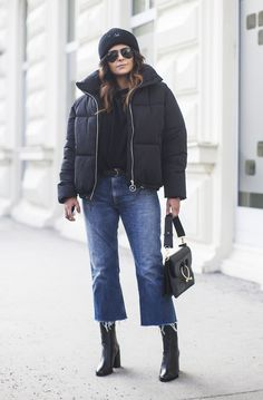 How To Wear A Puffer Jacket