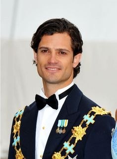 Prince Carl Philip of Sweden.  My royal crush.