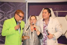 Domingo Bautista y El Pachá conversaron ayer con Luchy Vicioso en su programa por Color Vision
