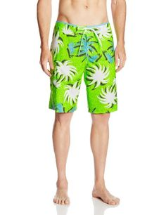 ONeill Mens Santa Cruz Stretch Printed Boardshort Yellow 33 -- Find out more by clicking the image Mens Outdoor Clothing, Men Swimwear, Amazon Website, Amazon Associates, Outdoor Outfit, Fitness Fashion, Image Link, Gadgets, Swimsuits