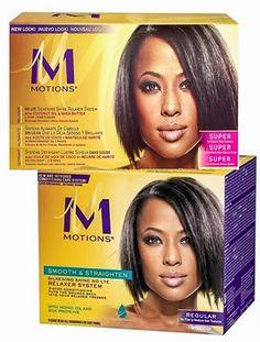 Motions Silkening Shine No Lye Relaxer Kit Regular Or Super