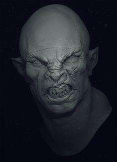 orc_head, Danil Solovyov on ArtStation at http://www.artstation.com/artwork/orc_head