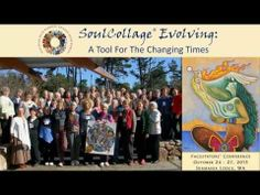 """""""SoulCollage® Evolving: A Tool for the Changing Times"""" was released at the 2013 Facilitators' Conference and also selected as 1 of 16 finalists in the 2013 TechSmith ScreenChamp Awards. Collage Video, Soul Collage, Video Library, Spotlights, 10 Years, Conference, Awards, Spirituality, Training"""