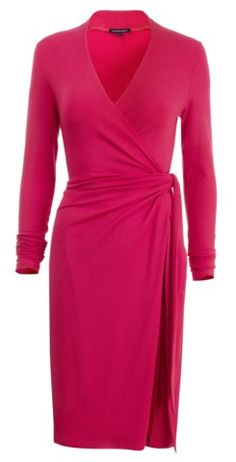 Dresses for Women Over 50 | wrap dress for women over 50 image
