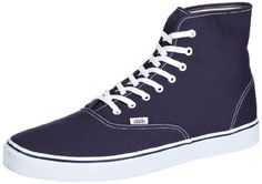 AwesomeNice Vans Authentic Hi VN-ORQFNWD Navy/True White