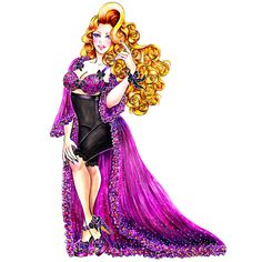 Curvy Diva - Fashion illustration by Sunny Gu #fashion #illustration #fashionillustration #sunnygu