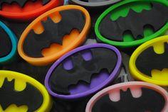 Batman Type Soaps x 3 by NerdySoap on Etsy