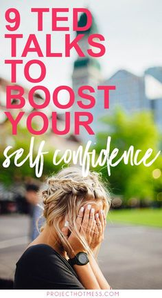 Every now and then we need a confidence boost, sometimes more than others. Listen to these TED talks to boost your confidence and motivate you to do more! Confidence Boost, Confidence Building, Self Development, Personal Development, Inspirational Ted Talks, Hard Times, Losing Her, Best Self, Self Esteem
