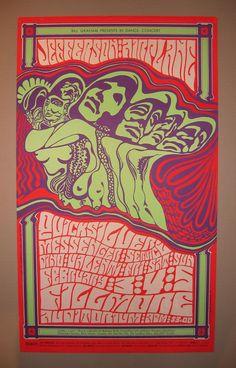 Concert at the Fillmore Auditorium (Jefferson Airplane; Quicksilver Messenger Service; Dino Valenti)