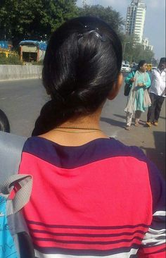 Loose Hairstyles, Indian Hairstyles, Braided Hairstyles, Indian Long Hair Braid, Women Seeking Men, Natural Hair Styles, Long Hair Styles, Bollywood Actress Hot, Cute Girl Face