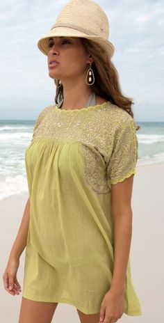 Flora Bella 2013 Oasis Green Tunic - Cover-ups    #cute #fashion #style #outfit http://www.southbeachswimsuits.com
