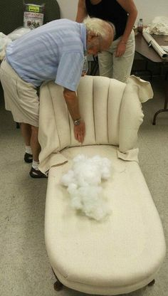 So, here is our somewhat overdue post on Upholstery Class It's a long one! For those of you who love the details, get a cup of coffee or a glass of wine and hopefully you'll be abl… Diy Furniture Upholstery, Furniture Fix, Living Room Upholstery, Upholstery Repair, Funky Furniture, Furniture Makeover, Upholstery Fabrics, Coaster Furniture, Upholstery Tacks
