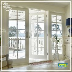 External French Doors, External Doors, Aluminium French Doors, Shed Decor, Container House Plans, Studio Room, French Country House, Painted Doors, Home Living Room