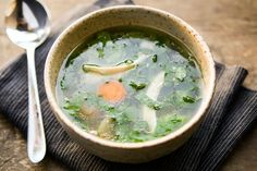 skinnymixer's Chicken and Vegetable Soup - a nourishing Thermomix broth