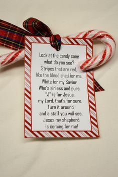 Legend of Christmas Candy Cane Jesus Poem Stocking Christmas Games For Family, Kids Christmas Ornaments, Christmas Poems, Christmas Gift Baskets, Christmas Gift Wrapping, Merry Christmas, Christmas Candy, Diy Christmas Gifts, Christmas Traditions