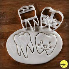 Cortador de galletas de diente Molar anatómica  Cortadores de