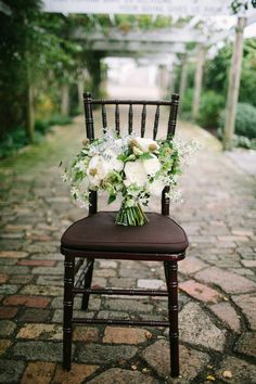 Lush bouquets, gardens, and lots of natural light - the perfect wedding scene for your special day.