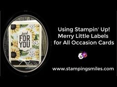(1) Using Stampin' U