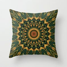 Nature's Colors Throw Pillow by Lyle Hatch - $20.00