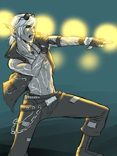 Rockstar Fenris by *Y-n-Y on deviantART