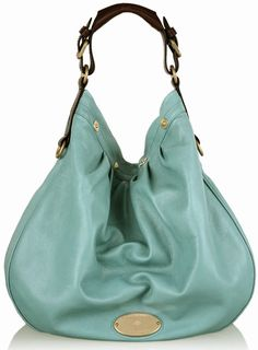 065f2e230d Mulberry Mitzy Hobo Bag in Turquoise Best Handbags