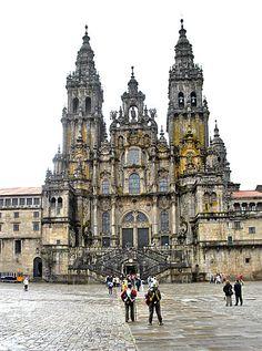 Cathedral of Santiago de Compostela,Spain