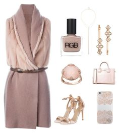 """""""Pretty lady"""" by im-karla-with-a-k on Polyvore featuring Liska, Lavish by TJM, Karl Lagerfeld, Sole Society, Henri Bendel, Nanette Lepore, Topshop and RGB Cosmetics"""