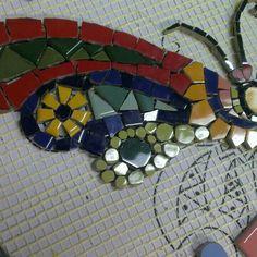 Mosaic Mosaic Garden, Mosaic Art, Mosaic Glass, Mosaic Tiles, Garden Art, Stained Glass, Mandala, Mosaic Animals, Mosaic Madness