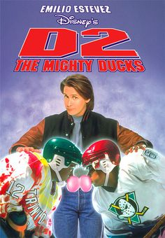 D2: The Mighty Ducks Lol I remember loving this movie. Ducks fly together. :)