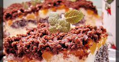 Przepis na wykwinty, świąteczny sernik z makiem, kokosem i brzoskwiniami. Krispie Treats, Rice Krispies, Food, Essen, Meals, Rice Krispie Treats, Yemek, Eten
