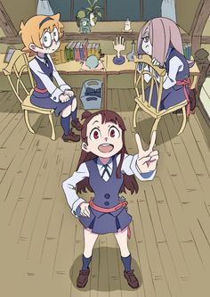 love the short movies and the anime serie <3 Little Witch Academia (TV)