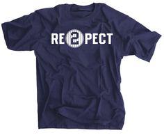 Re2pect T-Shirt - Derek Jeter Retirement New York Yankees Captain - Respect Pinstripes