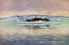 Клод Моне - The Fjord, near Christiania, 1893. Клод Оскар Моне